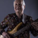 Happy bassist (photo by Maggie Selway)